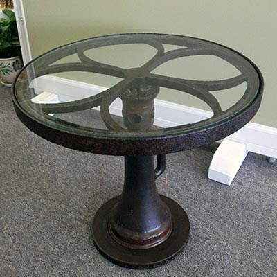 Glass-top Jack Table